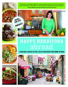 Happy Herbivore Abroad – #vegan book review and #giveaway ends 5/5