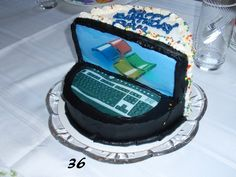 Computer cake.  Great cake for the techy in your world!