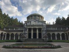 Krematorium in Friedhof Sihlfeld.  #zurich #switzerland #travel #thelazyfactory