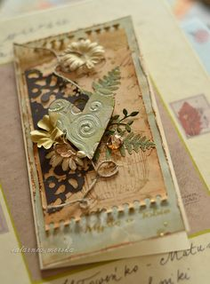 """""""Thinking about you"""" Valetine's Day card - Scrapbook.com"""