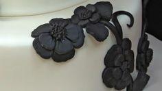 Fondant Cake Decorating - Making Flowers #CakeDecorating #flowerdecoration