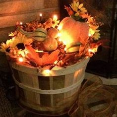 50 Cheap and Easy DIY Outdoor Fall Decorations - Prudent Penny Pincher