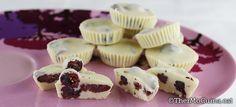 Bombons de xocolata blanca i fruits vermells | Thermocuina.cat