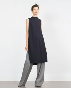 Image 1 of TUNIC WITH SIDE SLITS from Zara