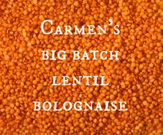 Add to recipe box Carmen has nine children – you can read all about that here. In the meantime, here is her go-to big batch on a budget recipe which looks perfect for a MamaBake session! Ingredients 1 cup of red lentils 4 cups chopped/grated vegetables 2 cloves of garlic chopped 1 large onion diced …