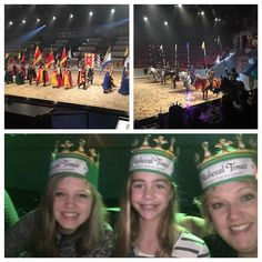 We had a very entertaining evening at Medieval Times. The girls loved the horses of course! #familyfun #christmas2016