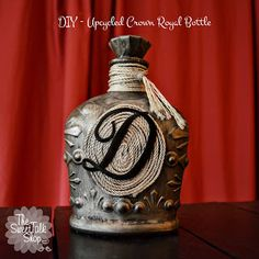 The SweetTalk Shop: DIY Upcycled | Crown Royal Bottle