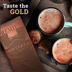 Organo Gold Hot Cocoa Our Gourmet Hot Cocoa is a delicious blend of rich cocoa and ganoderma in a creamy, delicious drink mix that the whole family can enjoy. Happy Coffee, I Love Coffee, Coffee Shop, Cheap Coffee, Cocoa Chocolate, Coffee Benefits, Baking Ingredients, Yummy Drinks, Healthy
