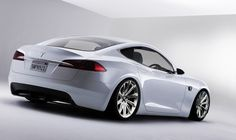 Tesla Coupe S Concept  Classical and elegant, with a touch of future