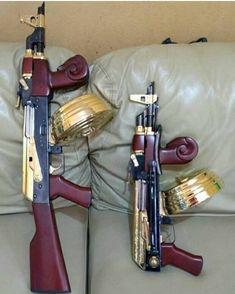 Weapons Guns, Guns And Ammo, Ak Pistol, Gun Art, Custom Guns, Fire Powers, Assault Rifle, Cool Guns, Firearms