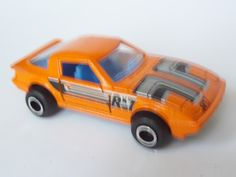 Mazda RX-7 orange - Majorette France - my collection!