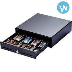 Ce tiroir caisse Metapace K2 et son petit format permet de répondre aux besoin de place des commerçants les plus exigeants. Disponible en blanc et en noir
