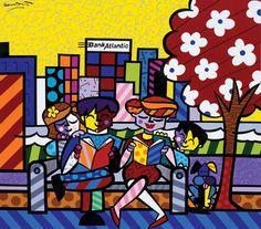 """Atlantic Family Tree 2004 80"""" x 90"""" Acrylic on Canvas"""