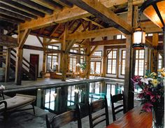 a pool in the barn.. someday?!