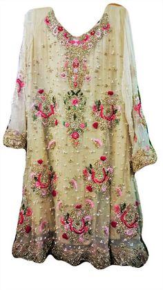 Items similar to Pakistani Dress, Designer Inspired Short Shirt with Plazzo Pants, Champagne Gold, Indian Dress/ Bollywood on Etsy Pakistani Formal Dresses, Pakistani Dress Design, Pakistani Outfits, Indian Dresses, Indian Outfits, Indian Designer Outfits, Designer Dresses, Plazzo Pants, Harem Pants