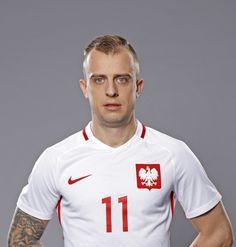 Kamil Grosicki #poland #polonia #polska Poland Culture, Visit Poland, Robert Lewandowski, National Football Teams, Art Music, Polo Ralph Lauren, Soccer, Sports, Science Art