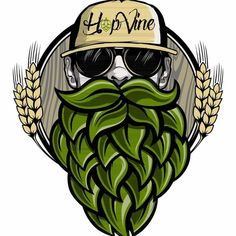 Hipster cartoon - Pin to Pin Beer Brewing, Home Brewing, Beer Cartoon, Cartoon Cartoon, Hops Plant, Craft Bier, Beer Hops, Marijuana Art, Geile T-shirts