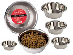 STAINLESS STEEL DOG BOWL 6 sizes! Standard High-Gloss Pet Food or Water Dish Cat in Pet Supplies, Dog Supplies, Dishes, Feeders & Fountains | eBay
