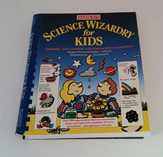 Science Experiments Book for Children with by FlatRockGoods