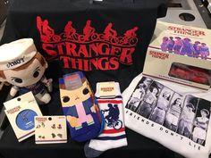Stranger Things Merchandise, Friends Don't Lie T-shirt, Socks, Jewelry, Etc.