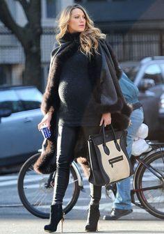 Blake Lively, a grávida mais incrível de todos os tempos!