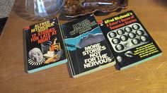 Vintage Paperback Books Hitchcock trio by heyyousguys on Etsy