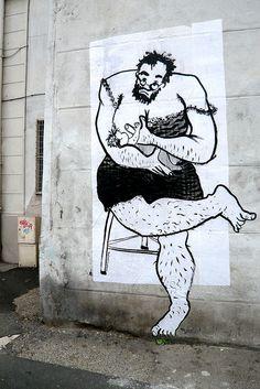 saint-étienne, 2009. Ella & Pitr Street Artists