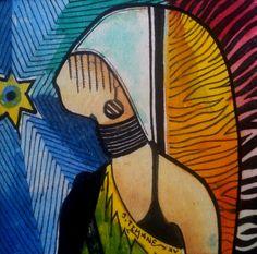 A islâmica da rua 28 de maio João Timane 12/12cm 2015