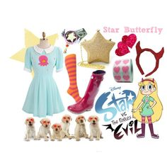 star vs the forces of evil costumes Cute Halloween, Halloween Costumes, Halloween 2019, Star Butterfly Costume, Evil Princess, Evil Disney, Disney Themed Outfits, Character Inspired Outfits, Casual Cosplay