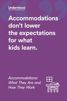 Accommodations: What they are and how they work
