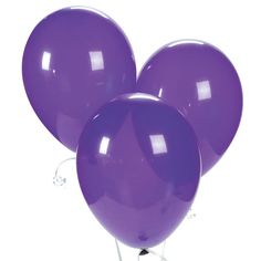 Quartz Purple Latex Balloons - OrientalTrading.com  To help show directions... I do not want balloons at the wedding itself, lol