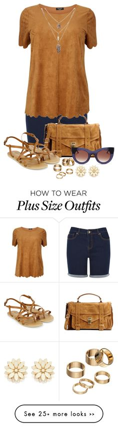 """""""summer fun!!!!"""" by forirgirl on Polyvore featuring Oasis, Proenza Schouler, Accessorize, Thierry Lasry, Apt. 9 and Forever 21"""
