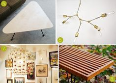 Mid-Century Modern #DIY Project Roundup #MCM