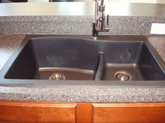 This brown blanco sink is made from 80 natural granite for Blancoamerica com kitchen sinks