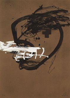 Destin à Terre — justanothermasterpiece: Antoni Tapies.