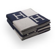 Blue & White - Hermes Blanket