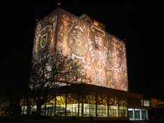 Biblioteca Central de Ciudad Universitaria, Mexico City