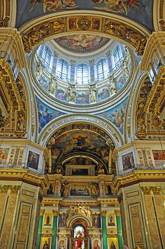 St Isaacs Cathedral. St Petersburg