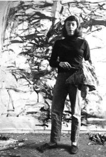 Joan Mitchell portrait of an abstract painter