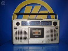 . funciona!!!-radiocasette sanyo vintage buen estado Radio SANYO model M9902K buen estado