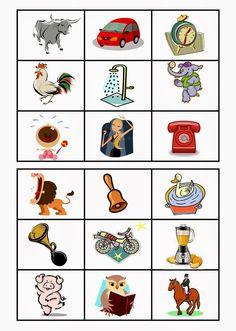A Música e a Criança: Jogo de Hoje: Bingo Sonoro