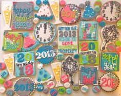 New Years Cookies! HayleyCakes And Cookies