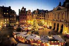 Stockholm, Sweden. This is so pretty. I will most definitely visit here when I study abroad