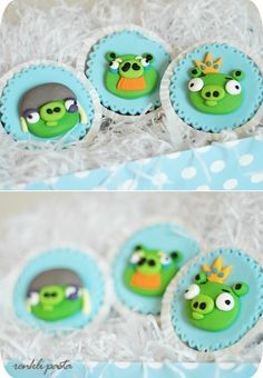 angry birds .... pigs