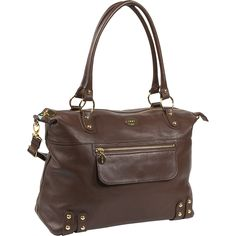 """Nest - leather diaper bag for """"personal item"""" on airplane. Dimensions:  14"""" x 17"""" x 8"""" Strap Drop Length:  12"""" Weight:  3 lbs Material:  Calfskin Warranty:  60 days against manufacturer's defects Linear Inches:  39"""""""