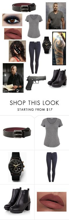 """""""Criminal Minds: Derek Morgan"""" by that-awkward-fangirl ❤ liked on Polyvore featuring MANGO, maurices, Triwa, Pieces, LORAC and iluvcriminalminds"""