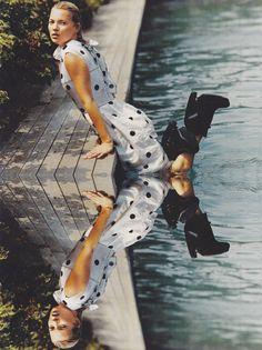 Kate Moss in Balenciaga