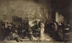 Gustave Courbet,The Artist's Studio,1855