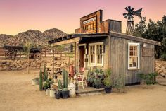 The Pioneer Town Motel - Once built for Western movie stars