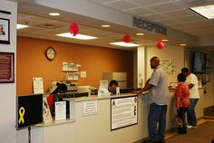 Primary Care Clinic (Family Medicine) at Kenner Army Health Clinic, 10:30 a.m., July 27. (Photo by Tereasa Wade)
